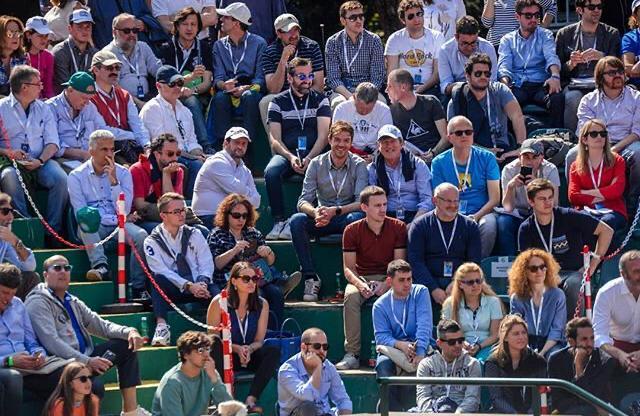 Alessandro-Terziani-e-alcuni-colleghi-durante-la-Coppa-Davis