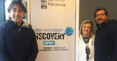 Chiusa all'Accademia Tennis Napoli la terza tappa del Discovery Open Qualifyng di IMG Academy