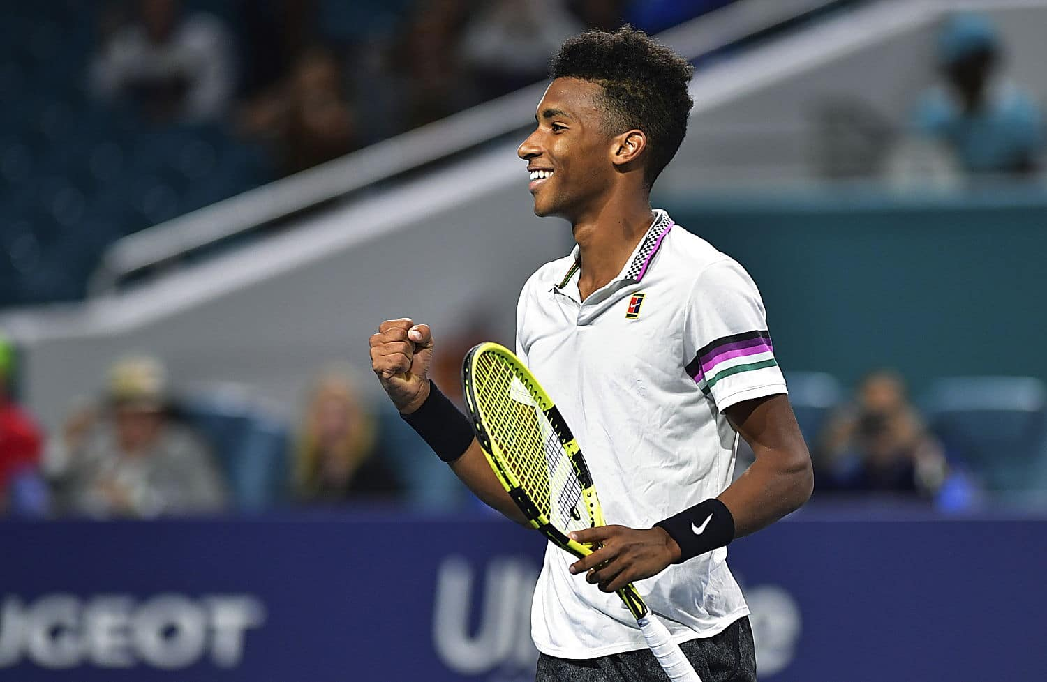 Ultimate Tennis Showdown Mouratoglou Auger-Aliassime