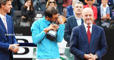IBI 2019, La Finale: Nadal si riprende Roma e sono 34 titoli 1000. E ora caccia al 12esimo Roland Garros