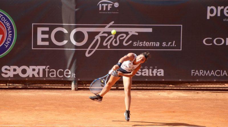 """ITF ROMA – ANTICO TIRO A VOLO  SARA ERRANI IN FINALE CONTRO BARBARA HAAS  """"NON ME L'ASPETTAVO, ORA VOGLIO VINCERE"""""""
