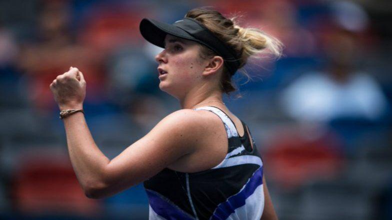 WTA Roma 2020 Elina Svitolina
