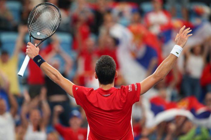 Atp Cup 2020 Serbia finale Russia Novak Djokovic