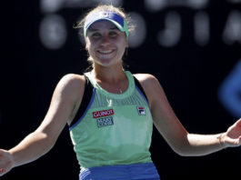 World Tennis team Sofia Kenin