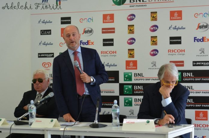 Angelo Binaghi Fit ATP Roma