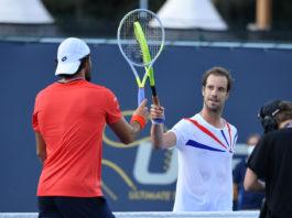 Ultimate Tennis Showdown Matteo Berrettini Richard Gasquet