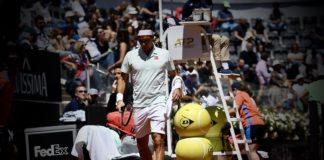 tie-break Roger Federer Roma