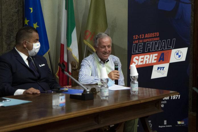 Finale Serie A1 Todi ATP Todi Sergio Palmieri
