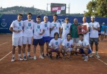 Finali Serie A1 maschile premiazione park tc genova