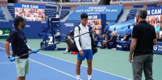 US Open 2020 Novak Djokovic squalificato