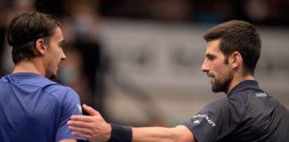 ATP Vienna Lorenzo Sonego Novak Djokovic