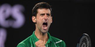 ATP Vienna Novak Djokovic