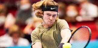ATP Vienna Andrey Rublev Lorenzo Sonego