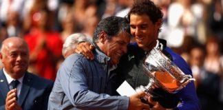 programmazione allenamenti nel tennis Toni e Rafael Nadal