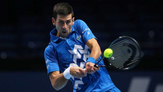 ATP Finals Novak Djokovic