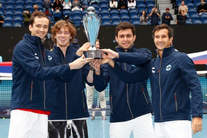 ATP Cup 2021 Medvedev Rublev