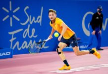 ATP Montpellier David Goffin