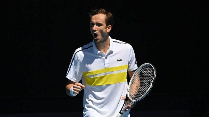 Australian Open 2021 Daniil Medvedev Andrey Rublev