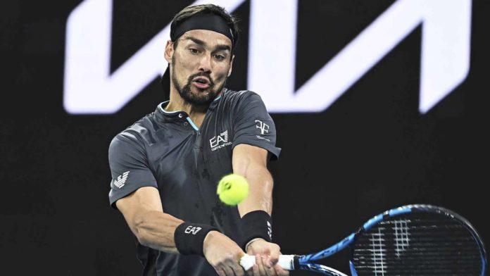 Australian Open 2021 Fabio Fognini Rafael Nadal