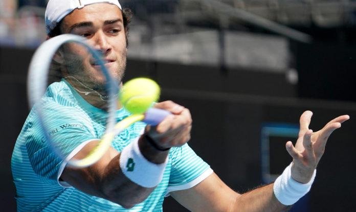 Australian Open 2021 Matteo Berrettini
