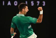 Australian Open 2021 Novak Djokovic Sasha Zverev