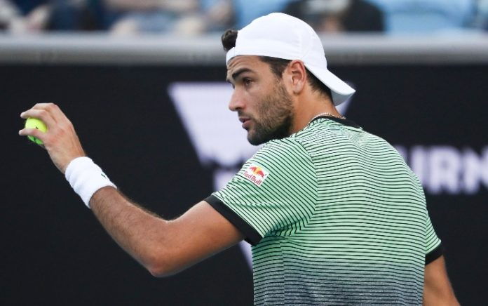 Australian Open 2021 berrettini matteo