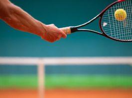 impugnatura da tennis racchetta corde