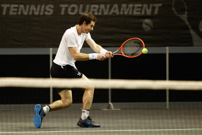 ATP Rotterdam Andy Murray