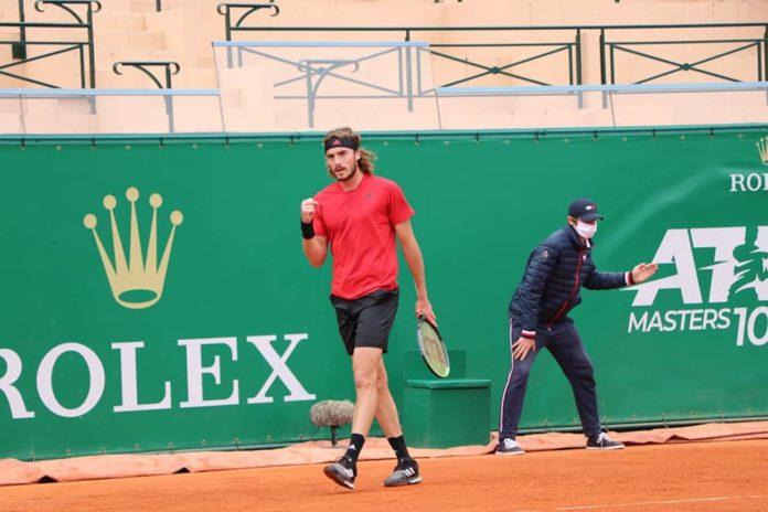 ATP Montecarlo Stefanos Tsitsipas Andrey Rublev