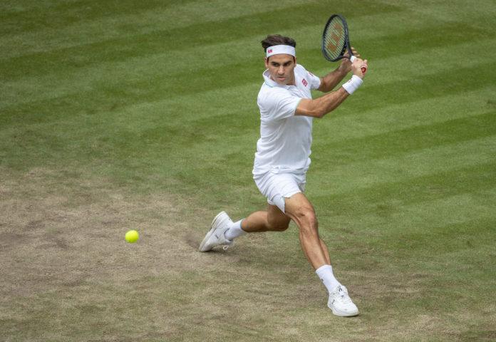 wimbledon 2021 Roger Federer