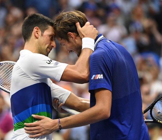 US Open 2021 Daniil Medvedev Novak Djokovic