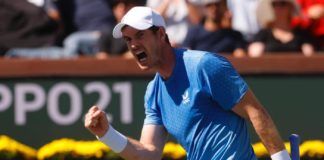 Indian Wells 2021 Andy Murray